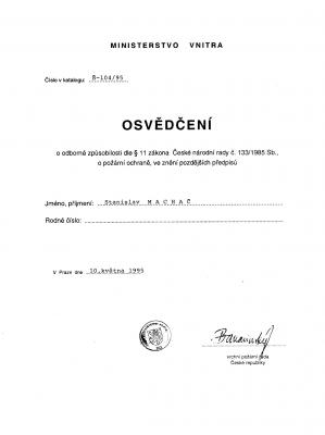 OZO PO - Stanislav Machač
