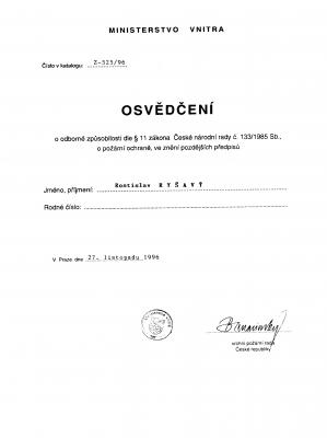 OZO PO - Rostislav Ryšavý